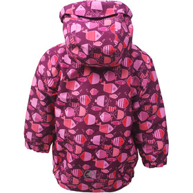 Color Kids Torke AOP Veste Fille, magenta purple